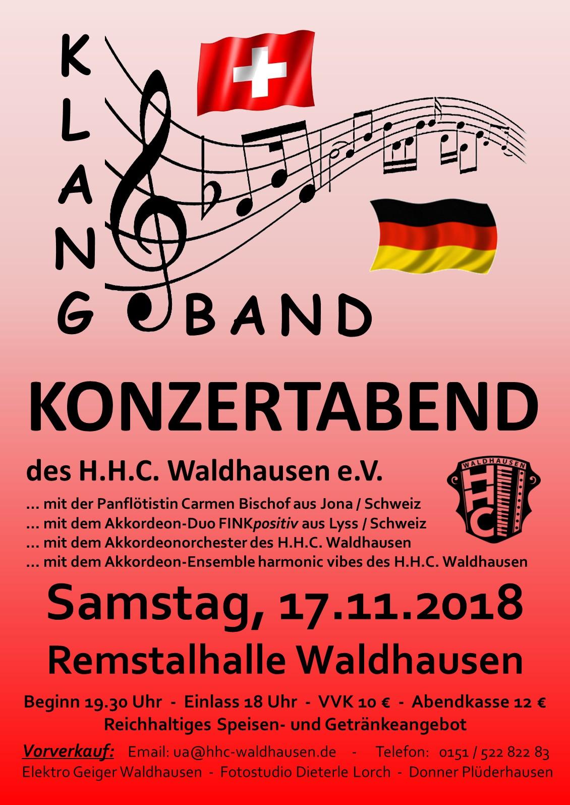 """Konzertabend """"Klangband"""""""