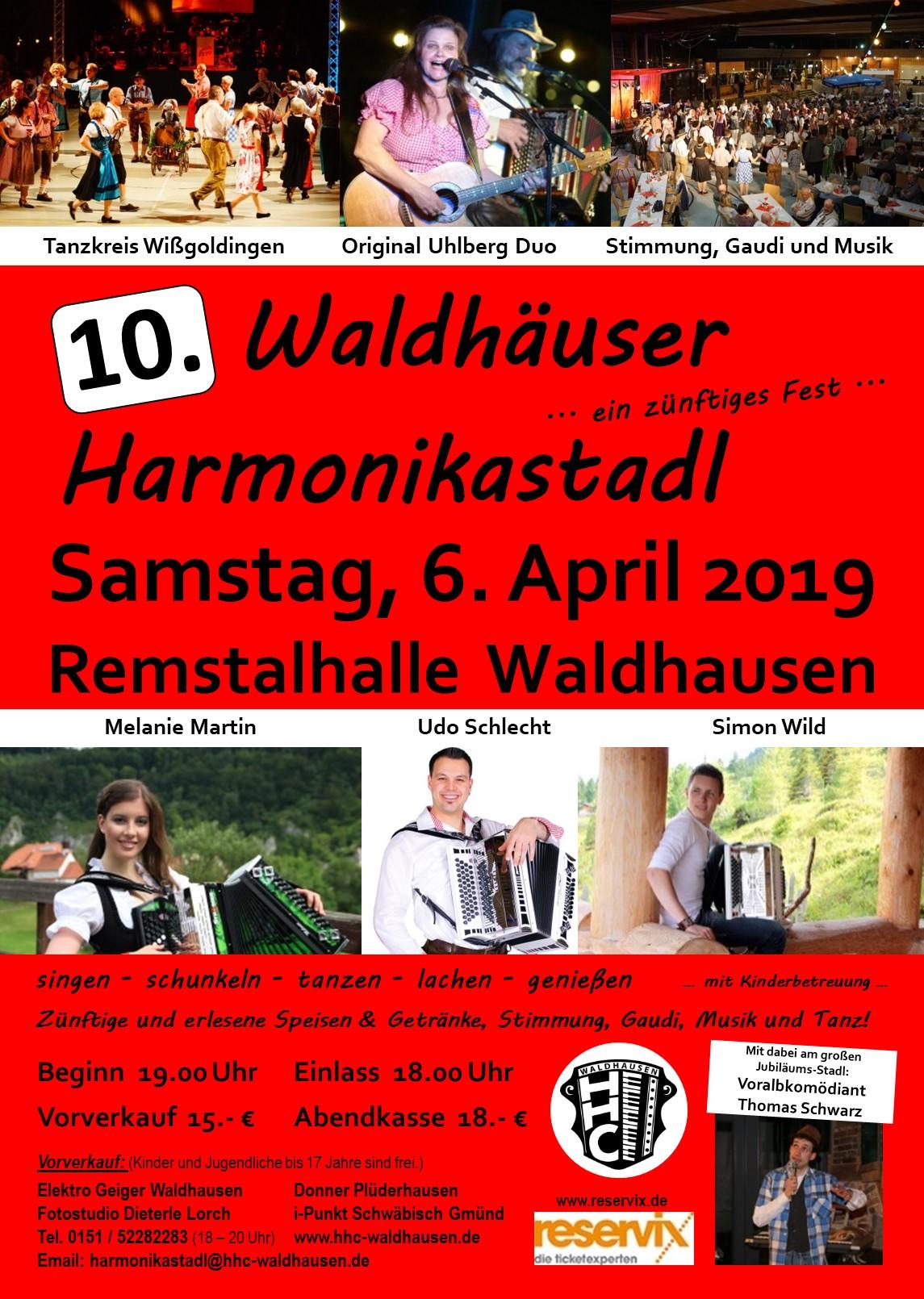 10. Waldhäuser Harmonikastadl
