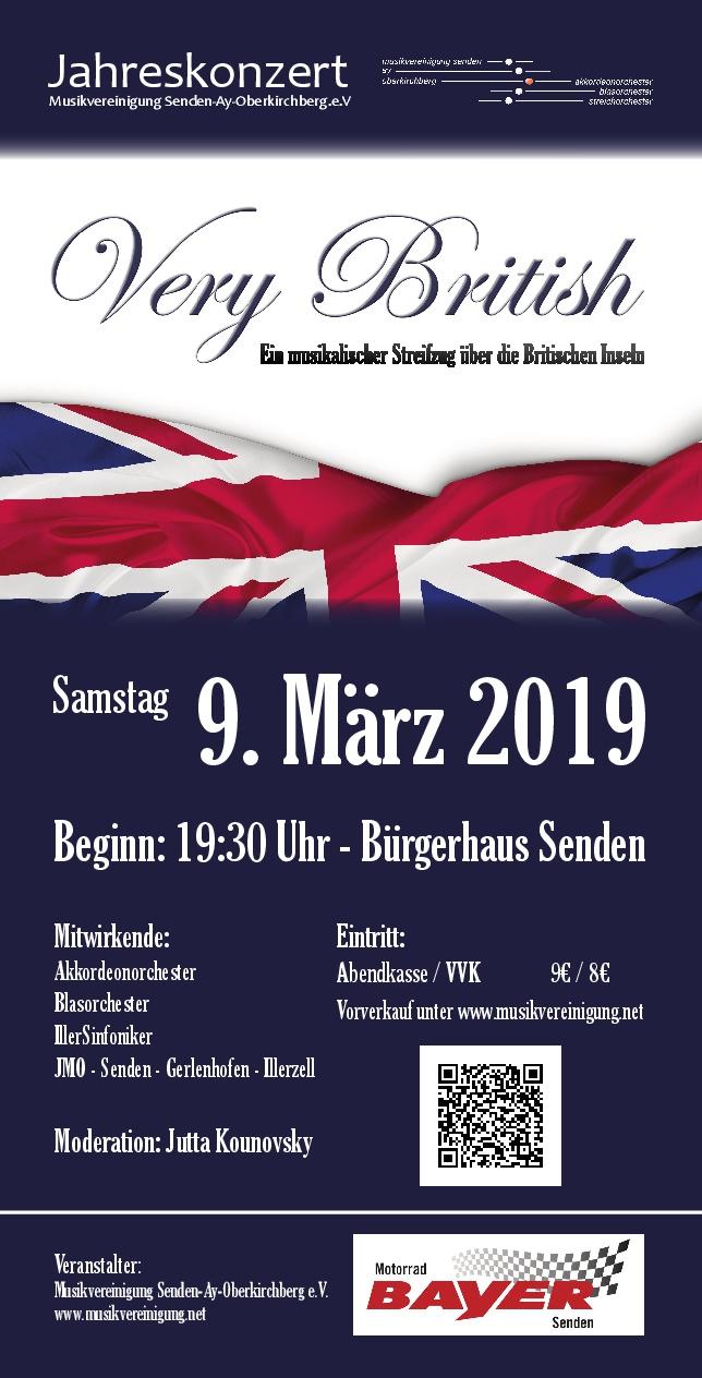 Jahreskonzert der Musikvereinigung Senden-Ay-Oberkirchberg e.V.