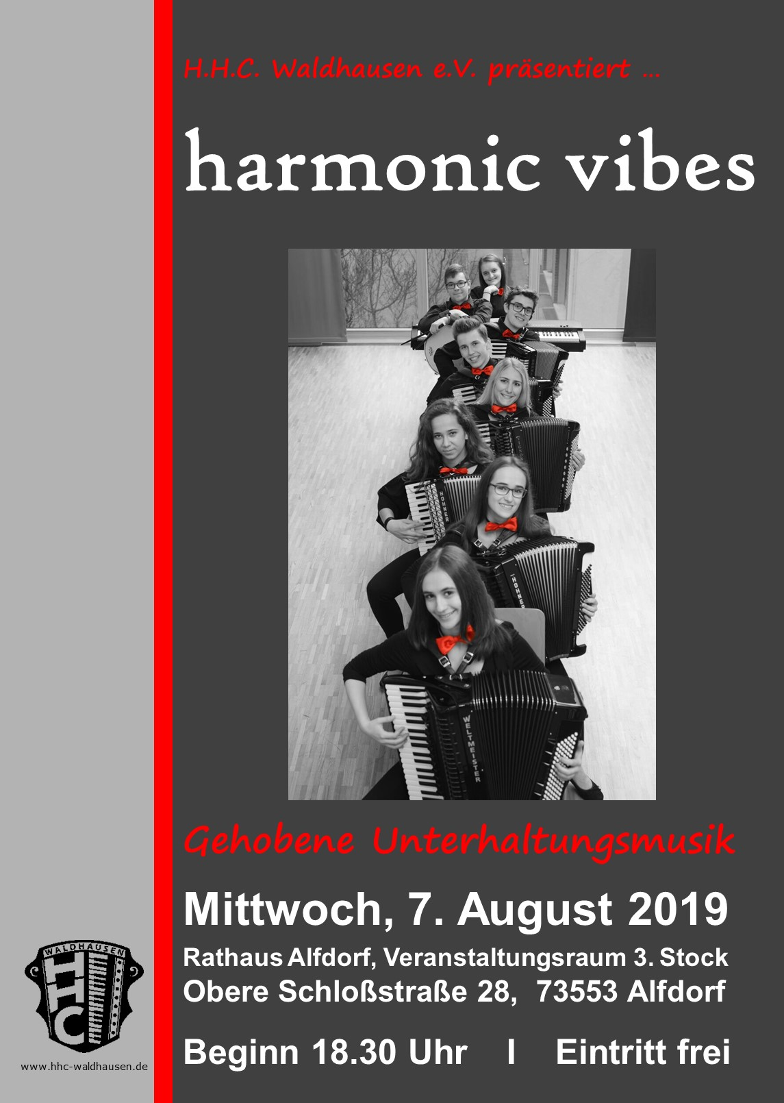 "Konzert Ensemble ""harmonic vibes"""