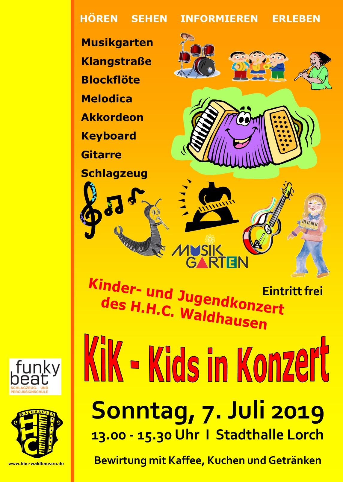 KiK – Kids in Konzert – Kinder und Jugendkonzert