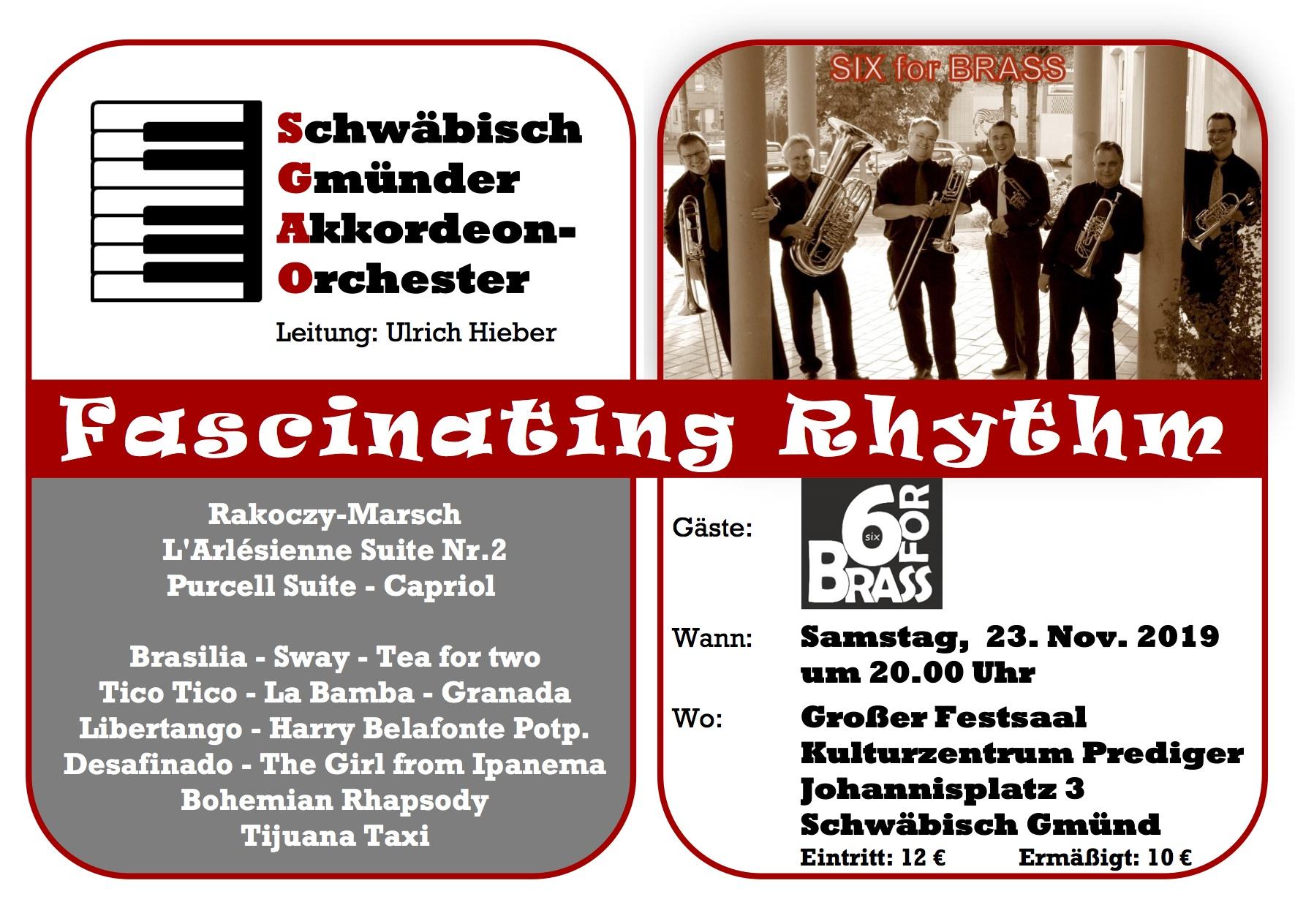 Fascinating Rhythm - Schwäbisch Gmünder Akkordeonorchester