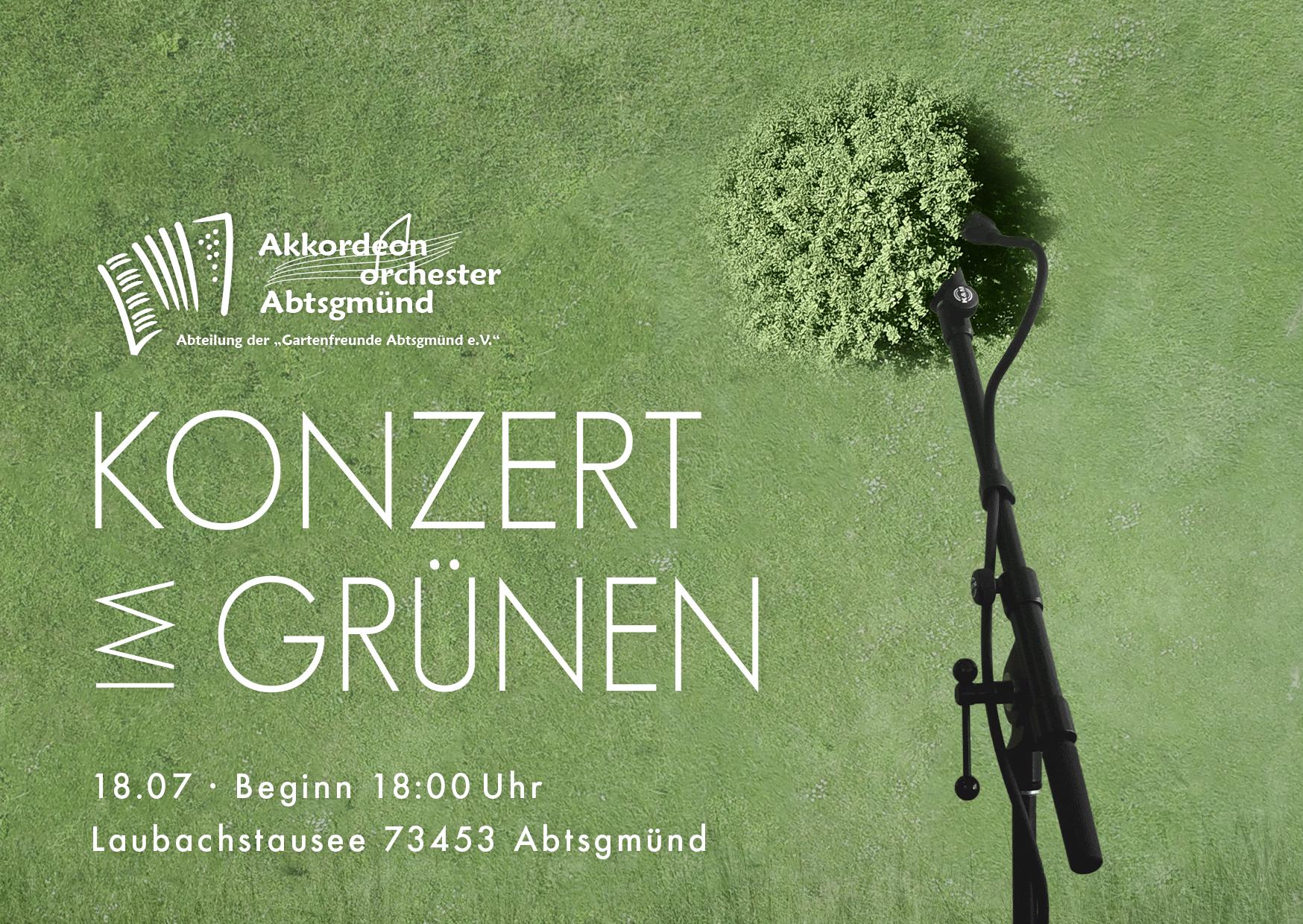 Konzert im Grünen